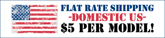 Flat Rate Shipping Service