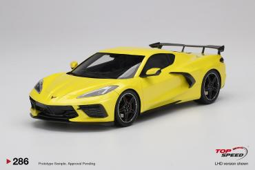 Chevrolet Corvette Stingray Accelerate Yellow Metallic
